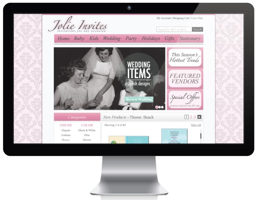 Jolie-Website
